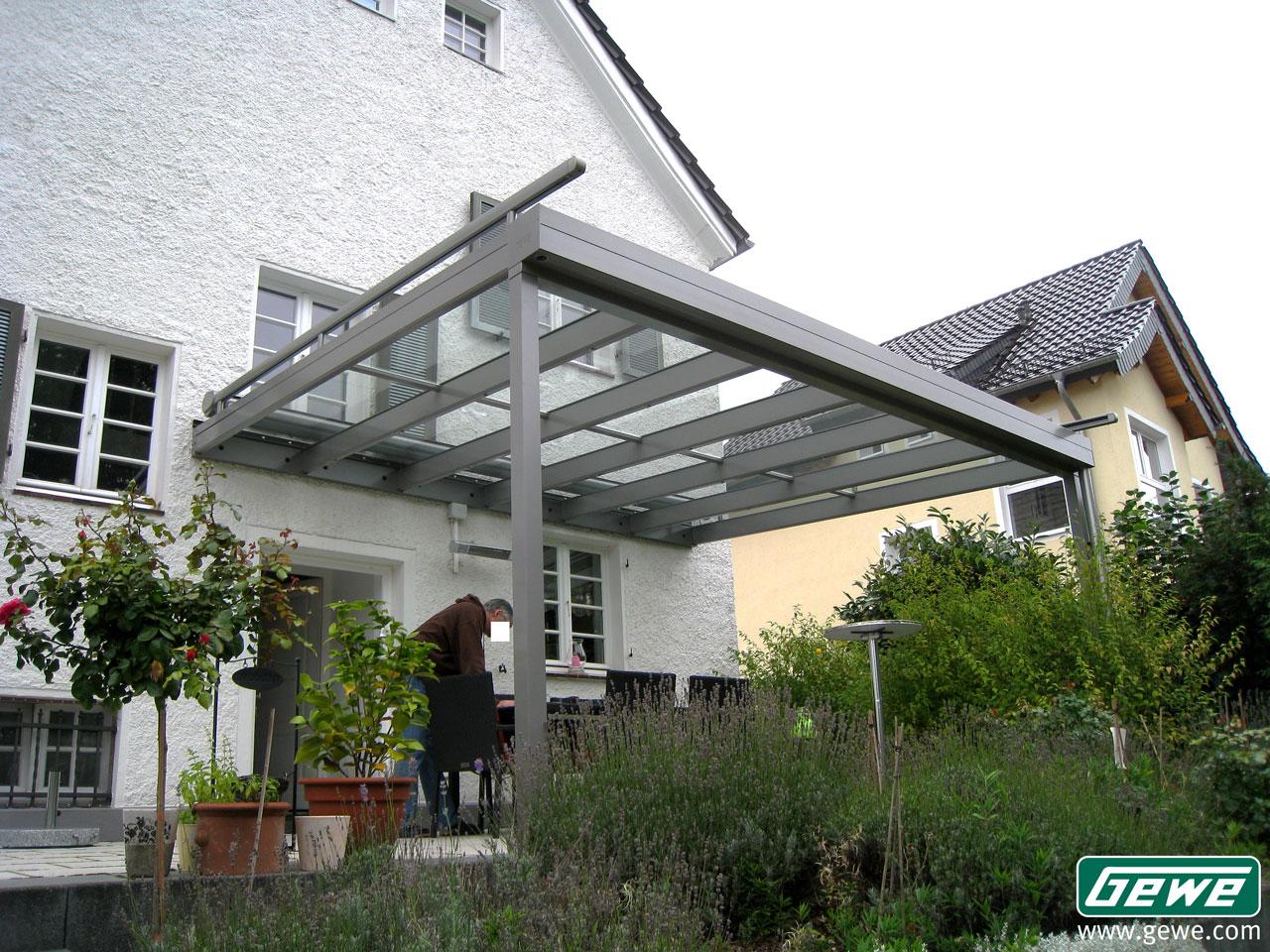 Terrassendach Holz Aluminium ~ Terrassendach Holz Aluminium Pictures to pin on Pinterest