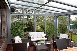 wintergarten aus aluminium. Black Bedroom Furniture Sets. Home Design Ideas